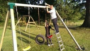 Play Crazy Climbing Frame Installation Play Set