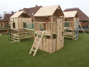 Hulk Triple Play Crazy Climbing Frame