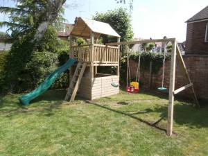 Single Bambi Climbing Frame Tower Play Crazy